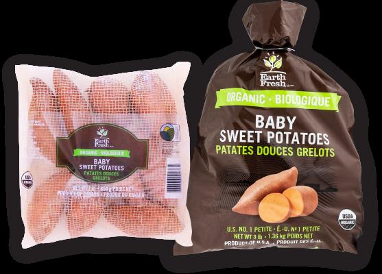 EarthFresh Organic Baby Sweet Potatoes