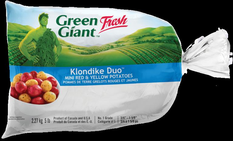 Green Giant Klondike Duo Mini Red and Yellow Potatoes